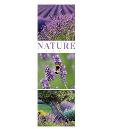 Wall calendar Nature - Triplet-Kalender 2021