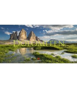 Wall calendar Dolomiten Kalender 2021