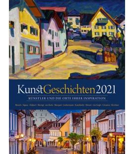 Wall calendar KunstGeschichten Kalender 2021