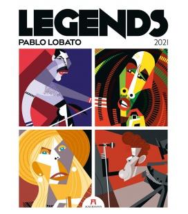 Wall calendar Legends – Pablo Lobato, Musiklegenden Kalender 2021