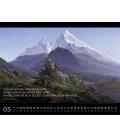 Wall calendar Into the Wild - Abenteuer Landschaftsmalerei Kalender 2021