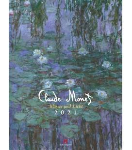 Wall calendar Claude Monet - Wasser und Licht Kalender 2021