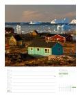 Wall calendar Skandinavien - Wochenplaner Kalender 2021