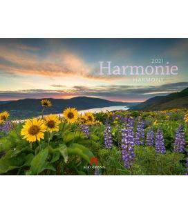 Wall calendar Harmonie Kalender 2021