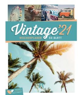 Wall calendar Vintage - Wochenplaner Kalender 2021