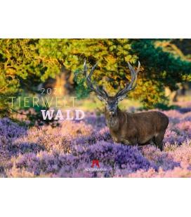 Wall calendar Tierwelt Wald Kalender 2021