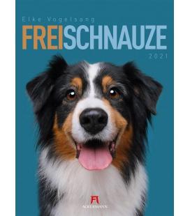 Wall calendar Frei Schnauze Kalender 2021