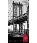 Wall calendar I love New York - Literatur-Kalender 2021