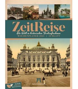 Wall calendar ZeitReise - Wochenplaner Kalender 2021