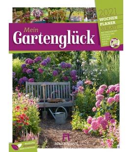 Wall calendar Gartenglück - Wochenplaner Kalender 2021