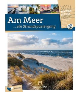 Wall calendar Am Meer - Wochenplaner Kalender 2021