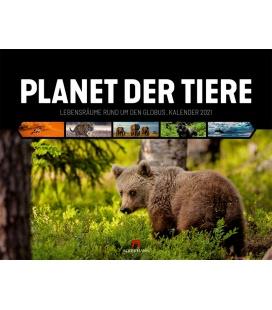 Wall calendar Planet der Tiere Kalender 2021