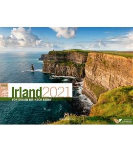 Wall calendar Irland ReiseLust Kalender 2021