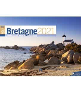 Wall calendar Bretagne ReiseLust Kalender 2021