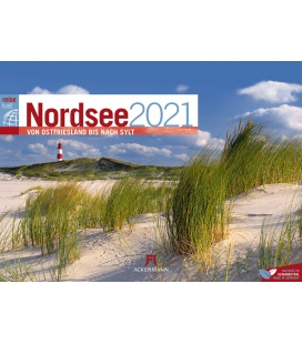 Wall calendar Nordsee ReiseLust Kalender 2021