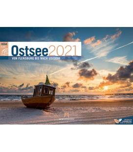 Wall calendar Ostsee ReiseLust Kalender 2021
