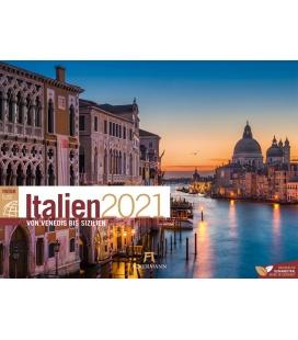 Wall calendar Italien ReiseLust Kalender 2021
