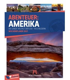 Wall calendar Amerika - Wochenplaner Kalender 2021