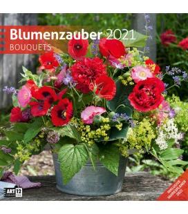 Wall calendar Blumenzauber Kalender 2021