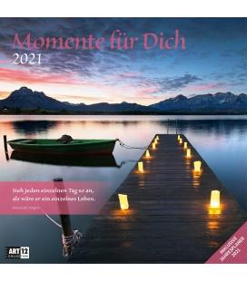 Wall calendar Momente für Dich Kalender 2021