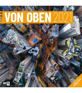Wall calendar Von oben Kalender 2021