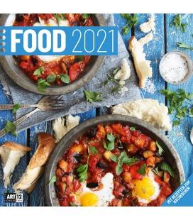 Wall calendar Food Kalender 2021