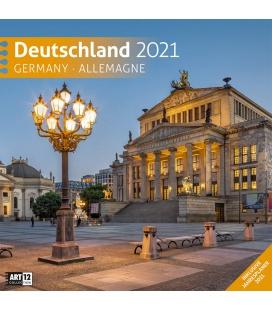 Wall calendar Deutschland Kalender 2021