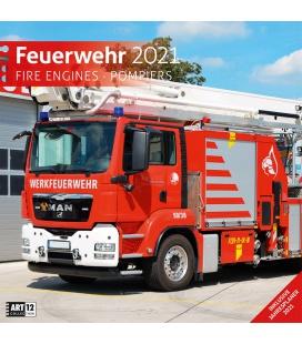 Wall calendar Feuerwehr Kalender 2021