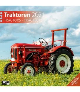 Wall calendar Traktoren Kalender 2021