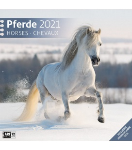 Wall calendar Pferde Kalender 2021