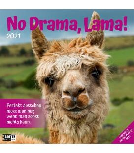 Wall calendar No Drama, Lama! Kalender 2021