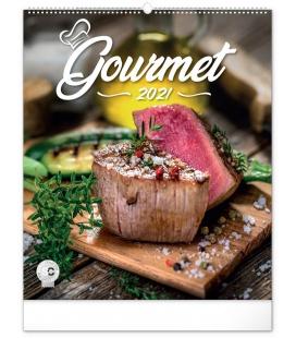 Wall calendar Gourmet 2021