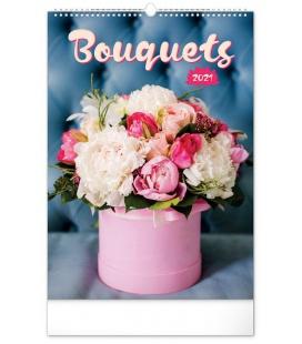 Wall calendar Bouquets 2021