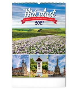 Wall calendar My Country 2021