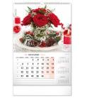 Wall calendar Flowers SK, 33 × 46 cm