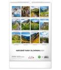 Wall calendar National Parks of Slovakia SK 2021