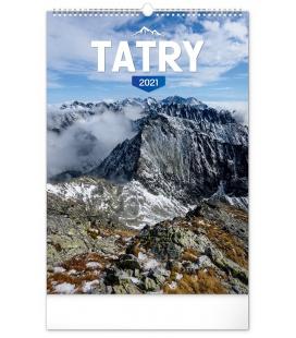 Wall calendar Tatras 2021