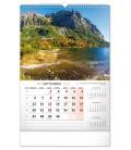 Wall calendar Slovakia 2021