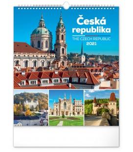 Wall calendar Czech Republic 2021