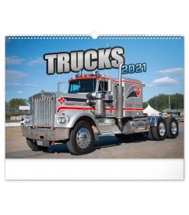 Wall calendar Trucks 2021