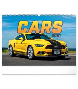 Wall calendar Cars 2021