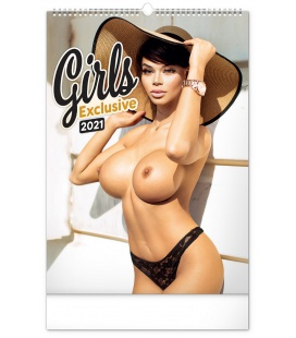Wall calendar Girls Exclusive – Martin Šebesta 2021