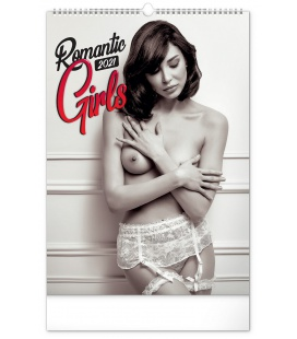 Wall calendar Romantic Girls – Martin Šebesta 2021