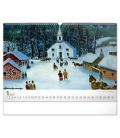 Wall calendar Naive Art – Konstantin Rodko 2021