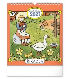 Wall calendar Josef Lada – Rhymes  2021