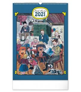 Wall calendar Josef Lada – Traditions 2021