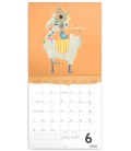 Wall calendar Happy Llamas 2021