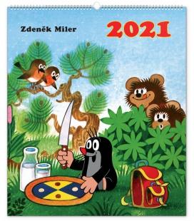 Wall calendar The Little Mole 2021