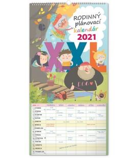 Wall calendar Family planner XXL SK 2021