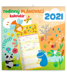 Wall calendarFamily planner SK 2021